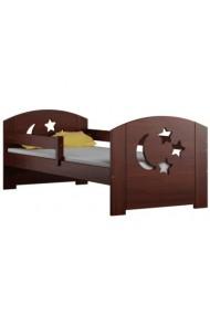 Cama infantil de madera de pino macizo Molly con cajón 160x70 cm