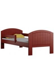 Cama infantil de madera de pino macizo Milly con cajón 160x70 cm