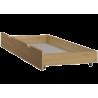 Cama de madera de pino macizo Bill1 180 x 80 cm