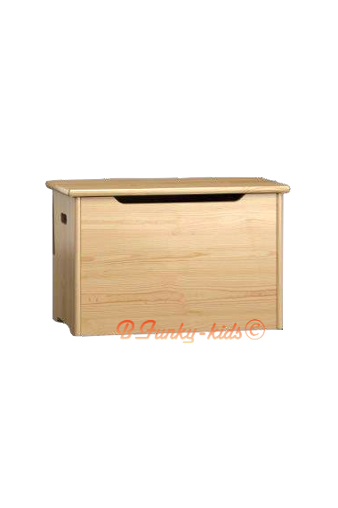 Caja de juguetes de madera maciza