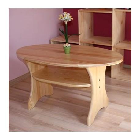 Mesa de madera maciza de pino
