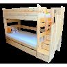 Cama litera con escalera con cajones Enrique 200x90 cm