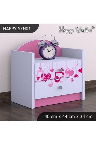 Mesa de noche Happy Colección 1