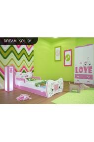 Cama infantil Sueños Rosados Colección con cajón y colchón