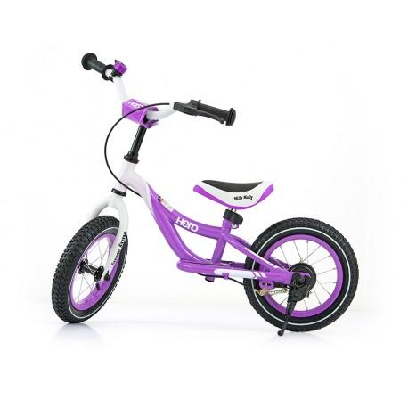 HERO CON FRENO VIOLETA - bicicleta sin pedales