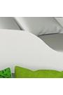 Cama litera con colchones Casita 160x80 cm