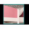 Cama semi alta Castillo con colchón y cortinas