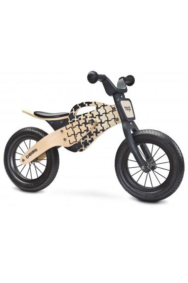 Enduro amarillo - bicicleta de madera sin pedales