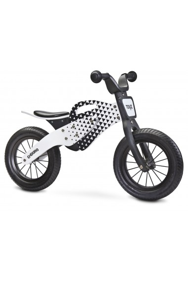 Enduro rojo - bicicleta de madera sin pedales