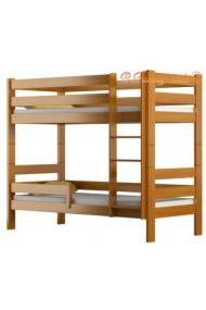 Cama litera de madera maciza Casper 160x70 cm