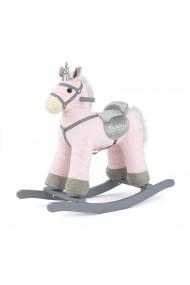 Caballo balancín Pepe Unicornio rosa